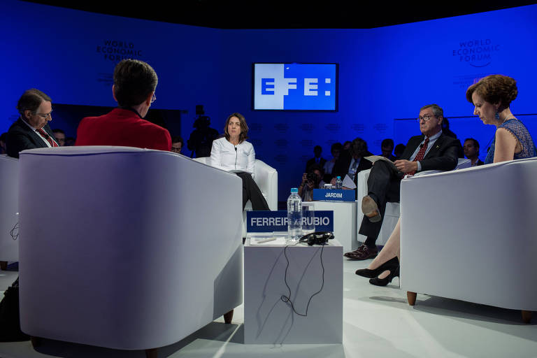 Fórum Econômico Mundial - 2º Dia