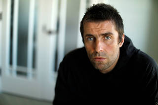FILE PHOTO: Musician Gallagher poses for a portrait while promoting his solo album