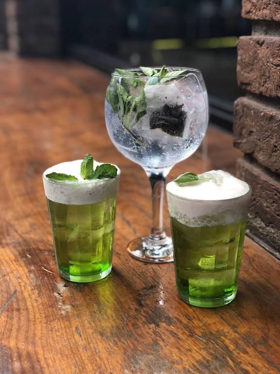 Bar Trabuca oferece drinques verdes para celebrar o dia de São Patrício