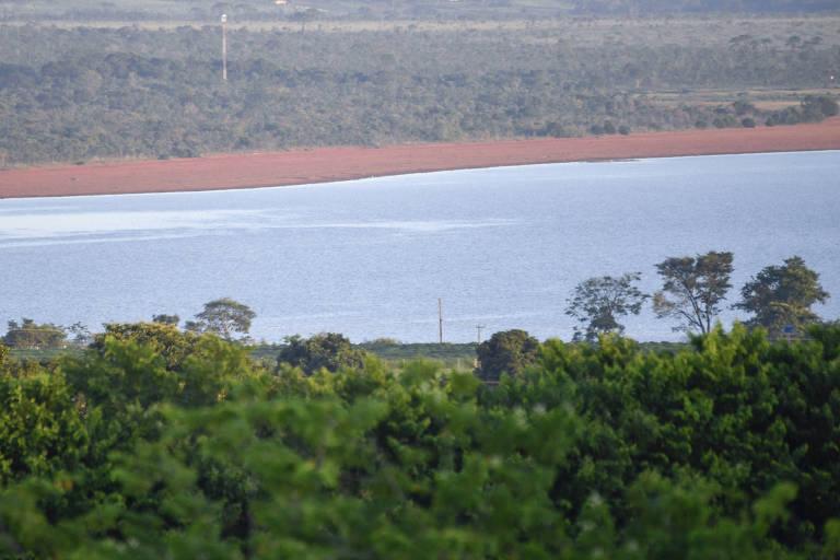 Manancial do Descoberto, que sofreu com a seca no Distrito Federal