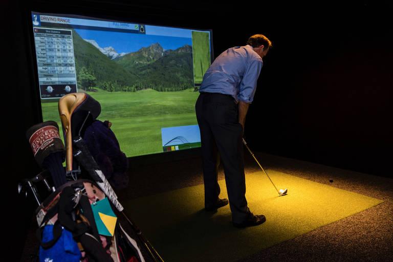 Simulador do Clubhouse Golf
