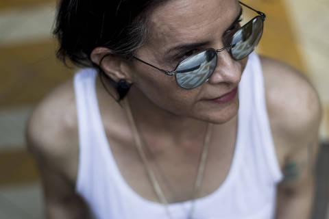 SAO PAULO - SP - BRASIL, 13-03-2018, 16h00: MARINA LIMA. Retrato da cantora Marina Lima, que lança seu 21o álbum: