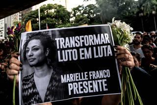 (2)BRASIL-SAO PAULO-PROTESTA-MARIELLE FRANCO