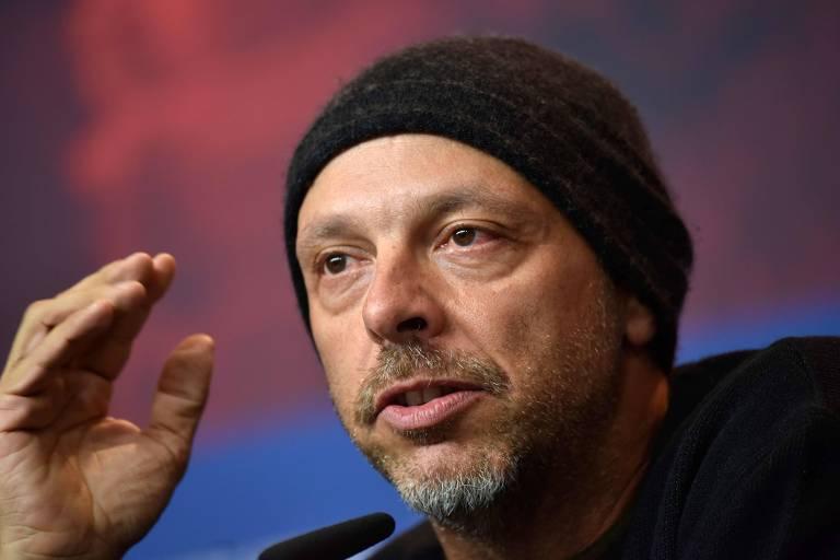 O diretor José Padilha durante o Festival de Berlim, em fevereiro