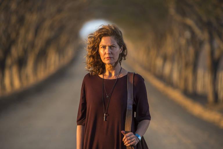 Patricia Pillar em cena da série 'Onde Nascem os Fortes'