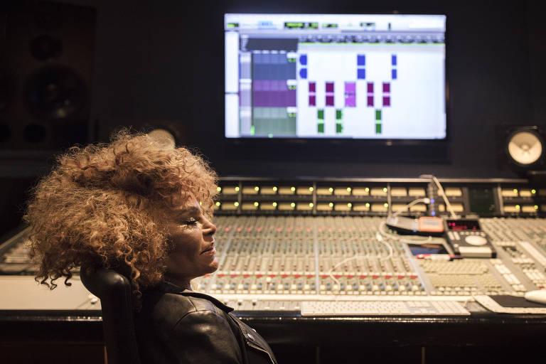 Elza Soares no Red Bull Studio