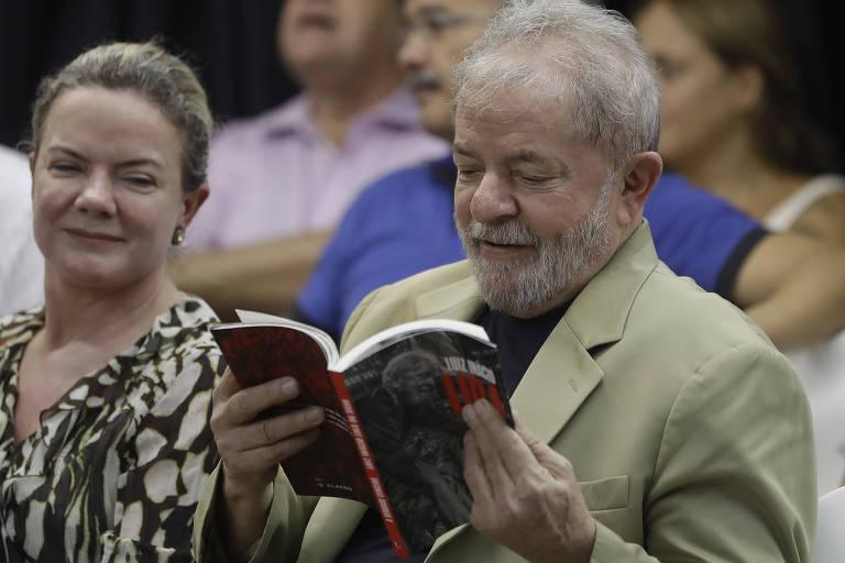 Lula durante evento em São Paulo