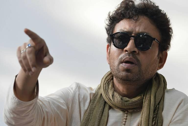 O ator indiano Irfan Khan