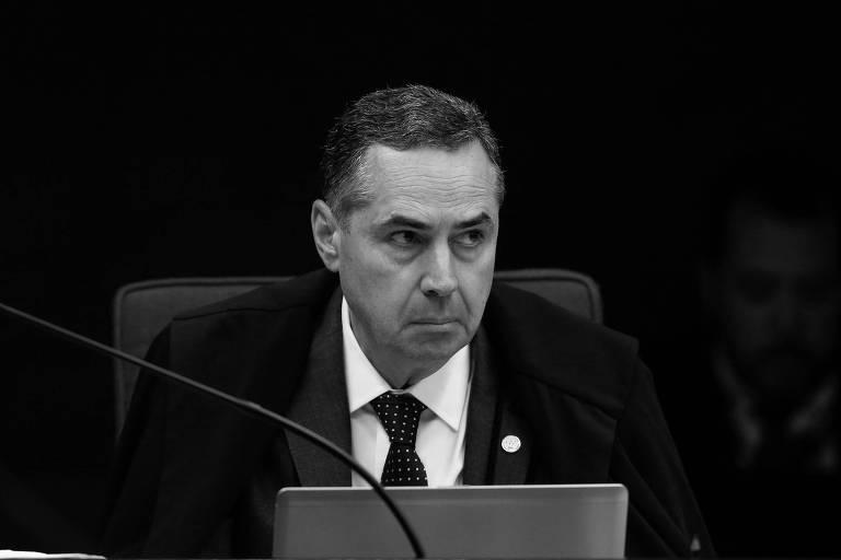O ministro Luís Roberto Barroso, do Supremo Tribunal Federal, durante sessão na corte