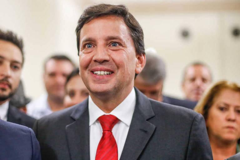O secretário estadual Floriano Pesaro, um dos concorrentes nas prévias