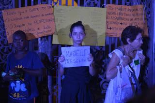 Segundo dia de protestos contra o assassinato de Marielle Franco e Anderson Gomes