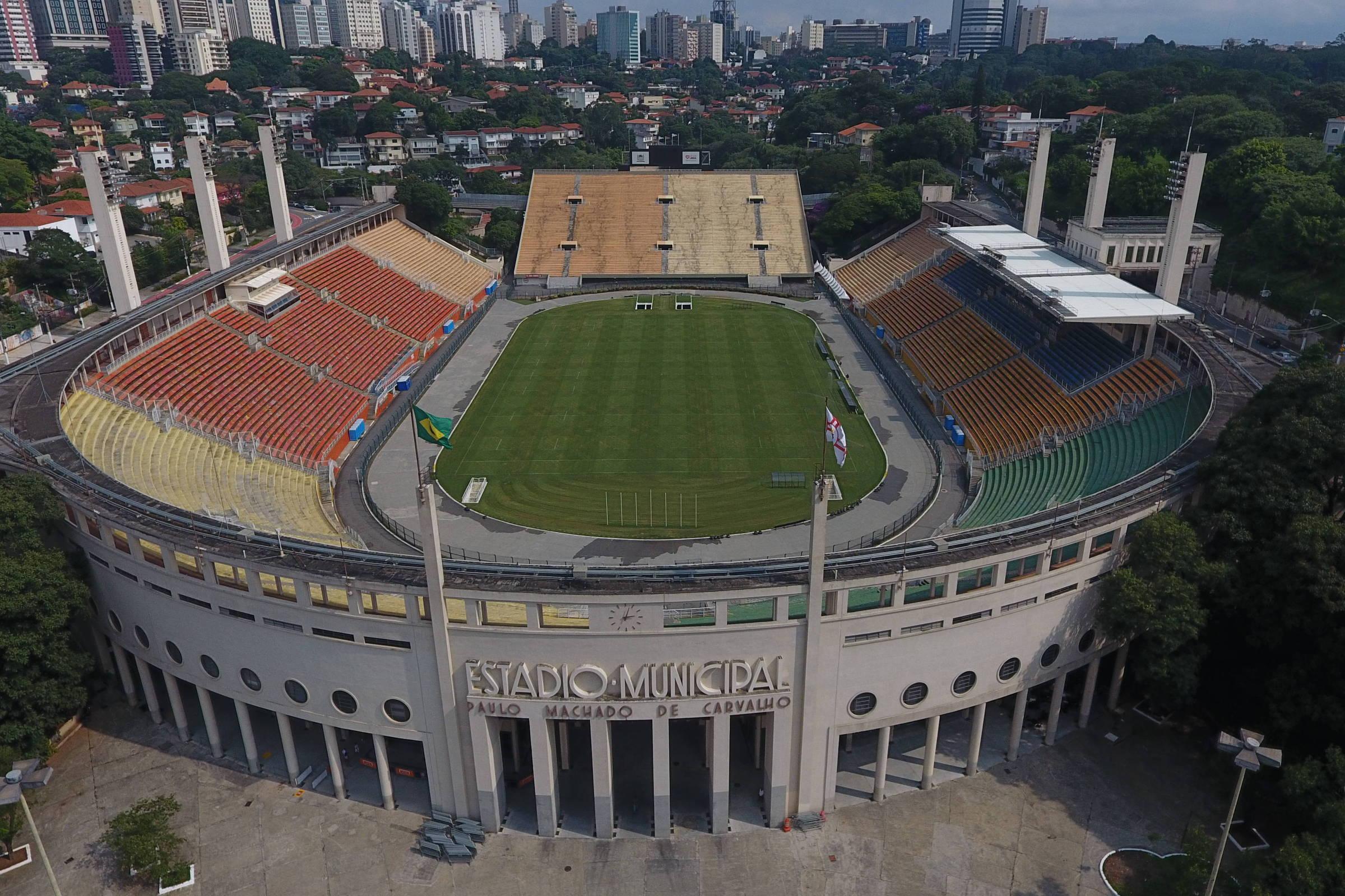 Corinthians volta ao Pacaembu como visitante