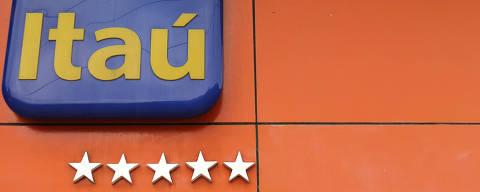 A logo of Itau bank is seen in Rio de Janeiro, Brazil, February 5, 2018.  REUTERS/Sergio Moraes ORG XMIT: SMS03