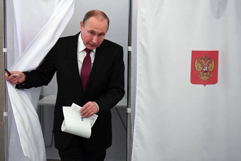 Eleição na Rússia