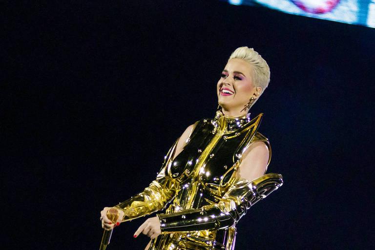 """Katy Perry se apresenta em São Paulo, com sua turnê """"Witness: The Tour"""""""