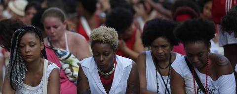SAO PAULO - SP - 18.03.2018 - Protesto na avenida Paulista contra a morte da vereadora carioca Marielle e o motorista Anderson Pedro Gomes. (Foto: Danilo Verpa/Folhapress, COITIDIANO) ORG XMIT: MARIELLE