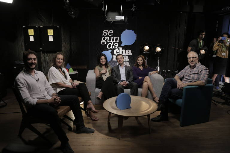 Equipe do 'Segunda Chamada', programa do canal MyNews no YouTube