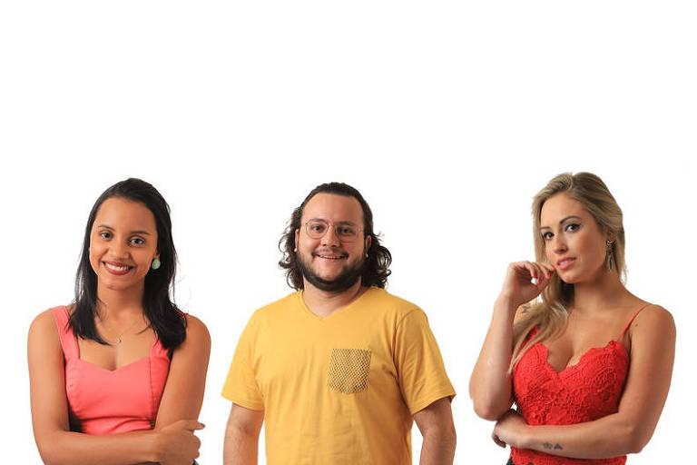 Gleici, Diego e Jéssica se enfrentam no 8º paredão