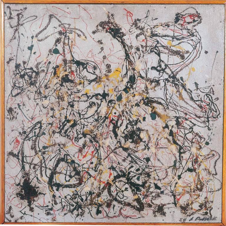 Obra 'No. 16' (1950) de Jackson Pollock