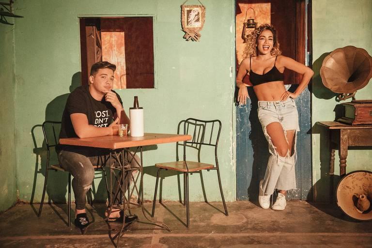 Wesley Safadão e Anitta gravam clipe juntos