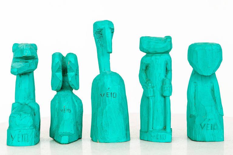 Obra do artista sergipano Veio que estará exposta no Itaú Cultural