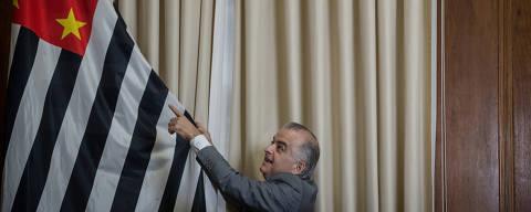 SÃO PAULO, SP, BRASIL, 19-03-2018: Entrevista com o vice-governador Márcio França (PSB), no Palácio dos Bandeirantes. (Foto: Avener Prado/Folhapress, PODER) Código do Fotógrafo: 20516 ***EXCLUSIVO FOLHA***