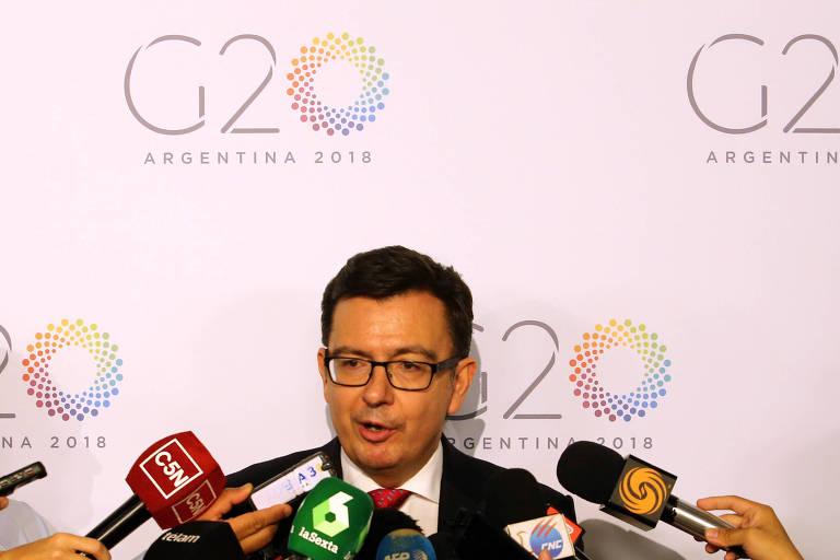 O ministro da economia espanhol, Román Escolano, disse estar otimista com relação às negociações