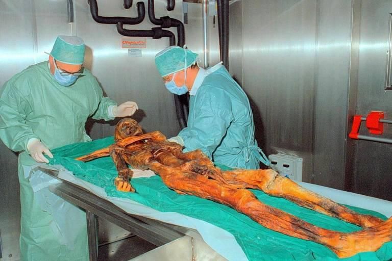Múmia de 5.300 anos
