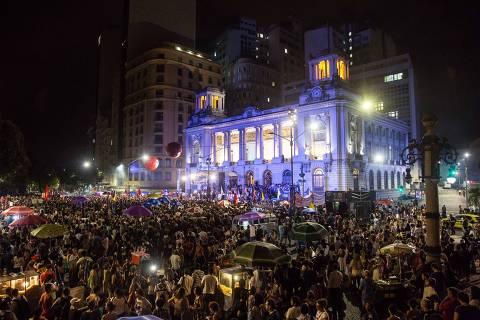 Manifestantes se reúnem em ato multirreligioso porMarielleno Rio