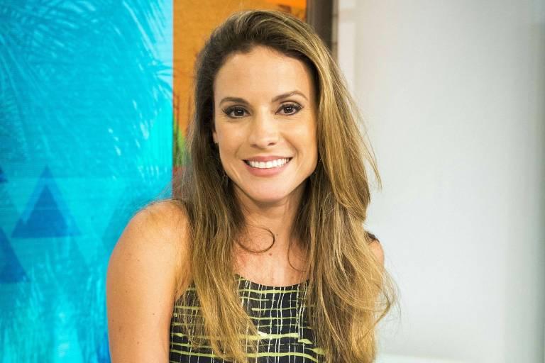 Maíra Charken, ex-apresentadora do Video Show (Globo)