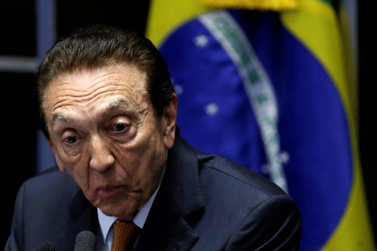 O senador Edison Lobão (MDB-MA)