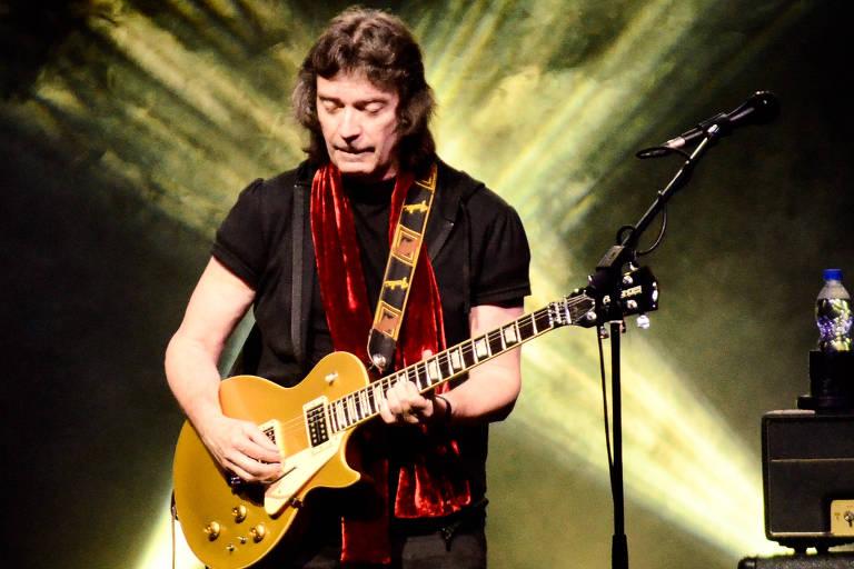 Steve Hackett, ex-guitarrista do Genesis, faz show em São Paulo nesta quinta