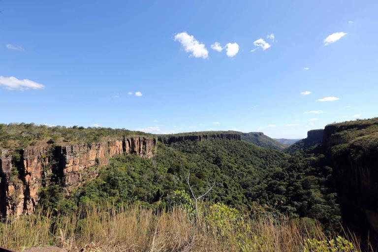 Chapada dos Guimarães, no Mato Grosso