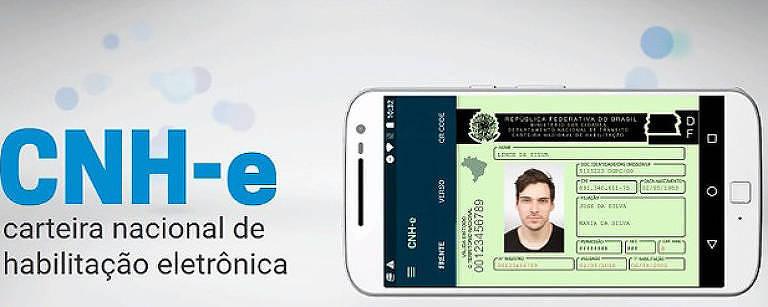 A versão digital da CNH será lançada na quinta-feira (22) em São Paulo