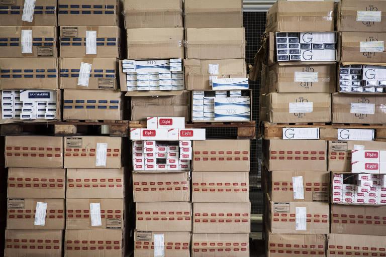 Uma luz no combate ao contrabando de cigarros