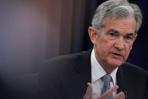 WASHINGTON, DC - MARCH 21: U.S. Federal Reserve Chairman Jerome Powell speaks during a news conference March 21, 2018 in Washington, DC. The Fed announced today as expected a quarter-point increase in interest rates under its new chairman.   Alex Wong/Getty Images/AFP
