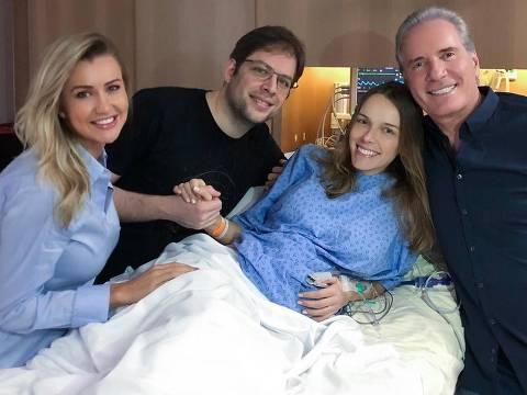 Roberto Justus e família celebram chegada de Arthur