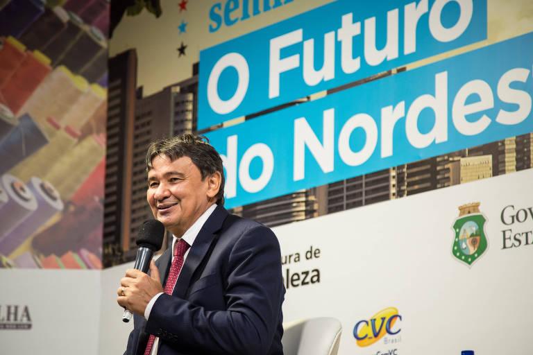 Governador do Piauí, Wellington Dias (PT), participa do Fórum Futuro do Nordeste, em Fortaleza