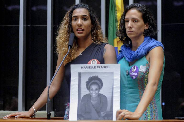 Homenagem a Marielle na Câmara dos Deputados