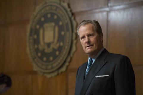 This image released by Hulu shows Jeff Daniels in a scene from