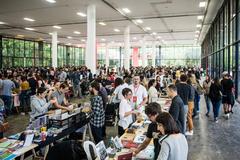 Quinta edição da Feira Plana, em 2017, que recebeu cerca de 18 mil pessoas na Bienal do Ibirapuera