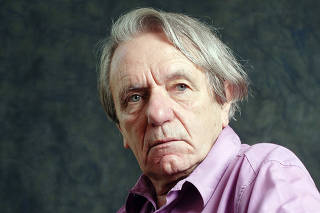 Jacques Ranciere Portrait Session