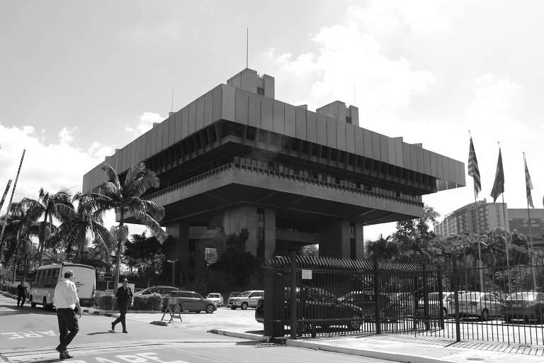 Prédio do Tribunal de Contas do Município de São Paulo, na Vila Clementino, zona sul da capital