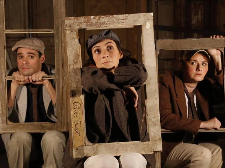 O espetáculo Oliver Twist é parte do Guritiba