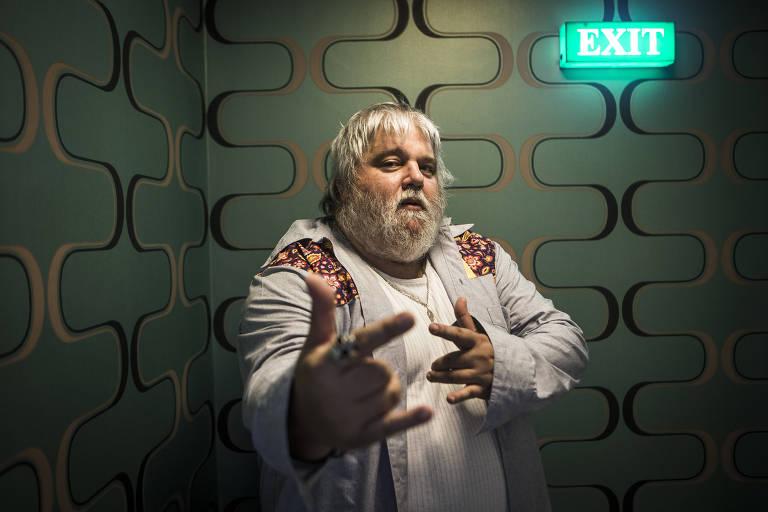 O produtor musical Carlos Eduardo Miranda