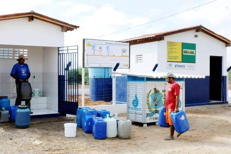 Dessalinização da Água