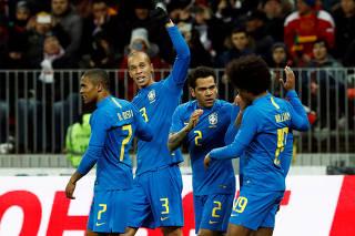 International Friendly - Russia vs Brazil