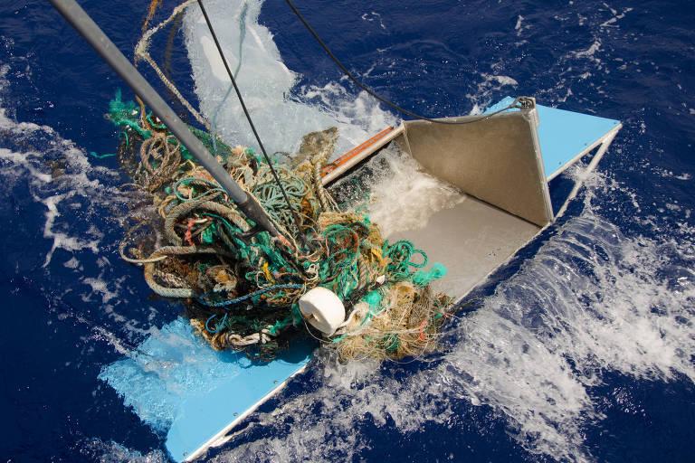Método tradicional de captura de lixo nem sempre é eficaz