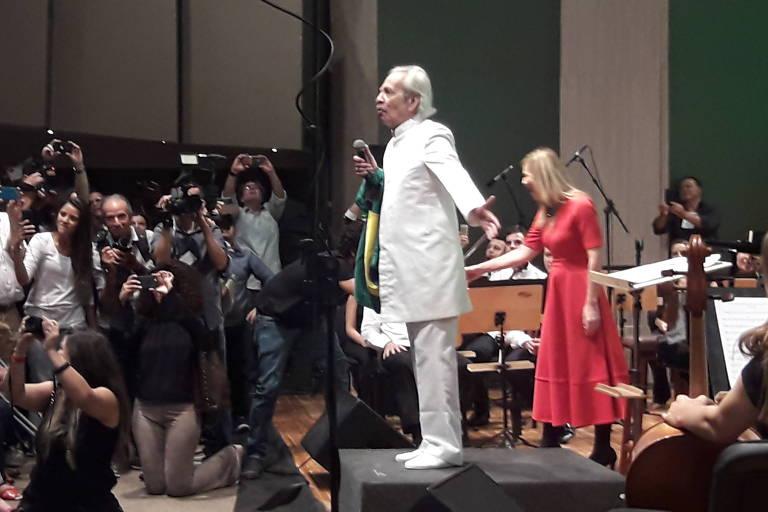 Show de Geraldo Vandré, 82, em João Pessoa, PB, nesta quinta-feira (22)