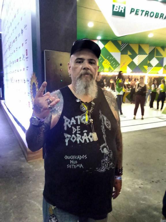 Famosos no Lollapalooza 2018